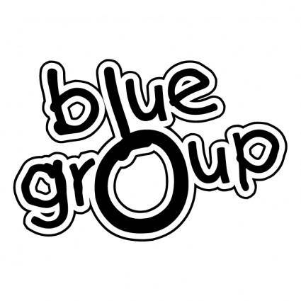 free vector Blue group
