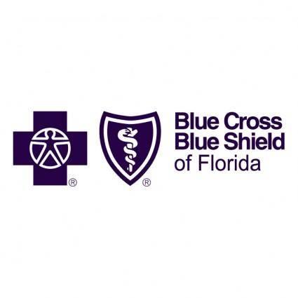 free vector Blue cross blue shield of florida