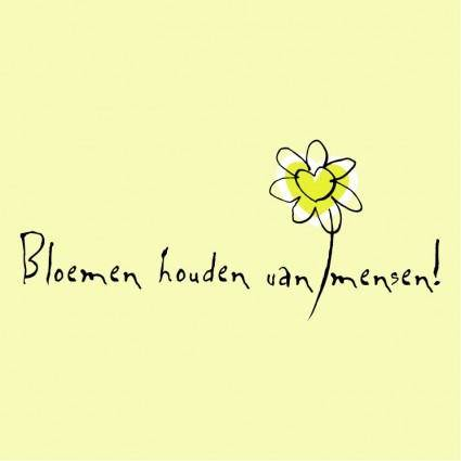 Bloemen houden van mensen