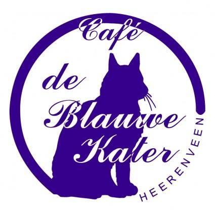 free vector Blauwe kater