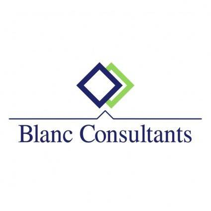 free vector Blanc consultants