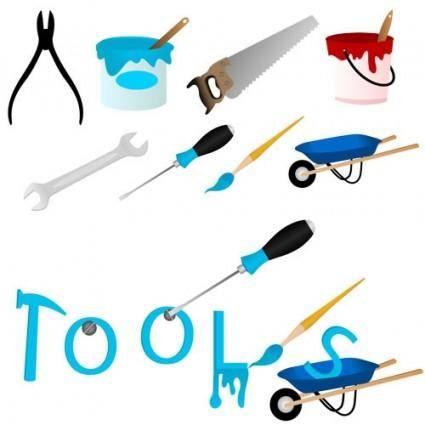 free vector Maintenance tools 04 vector