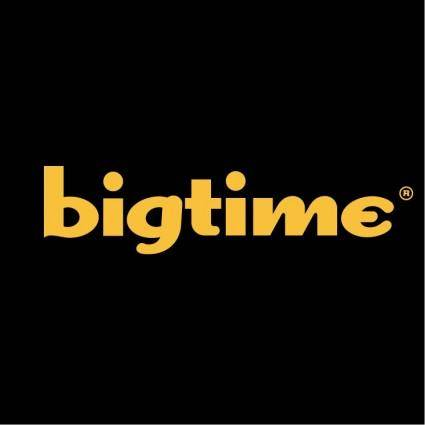 free vector Bigtime