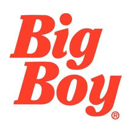 free vector Big boy 2