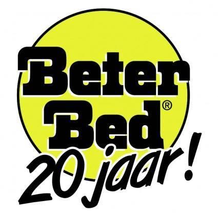 free vector Beter bed 20 jaar