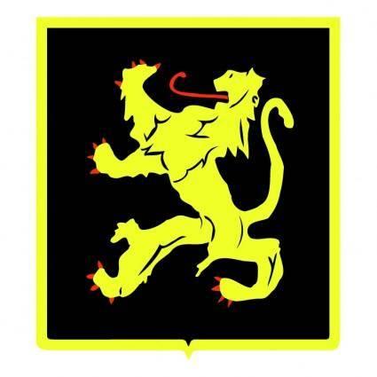 free vector Belgian lion