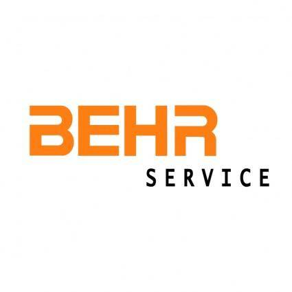 free vector Behr service