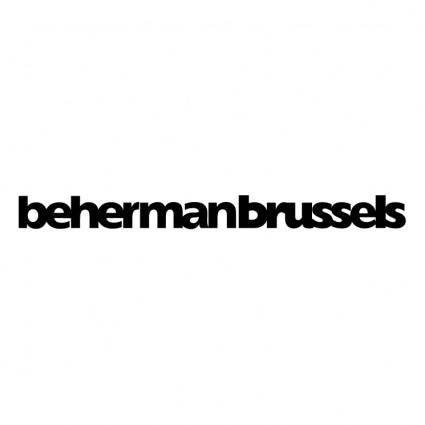 free vector Beherman brussels