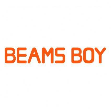 free vector Beams boy