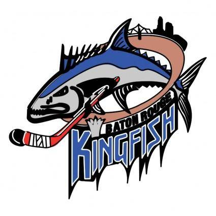 free vector Baton rouge kingfish