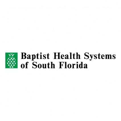 free vector Baptist health systems of south florida