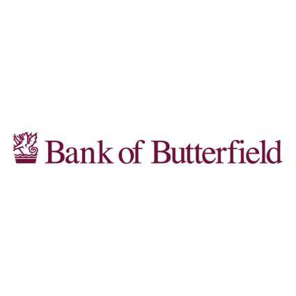 free vector Bank of butterfield
