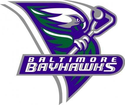free vector Baltimore bayhawks 1