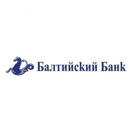 free vector Baltijsky bank