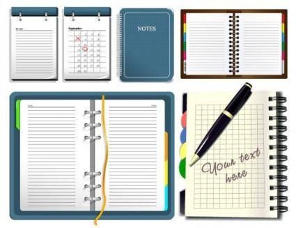 free vector Notepad vector