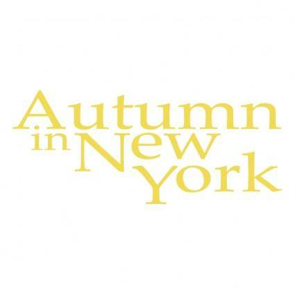 Authumn in new york