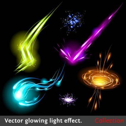 free vector Colorful flow line 02 vector