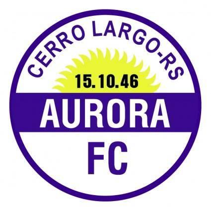 Aurora futebol clube de cerro largo rs