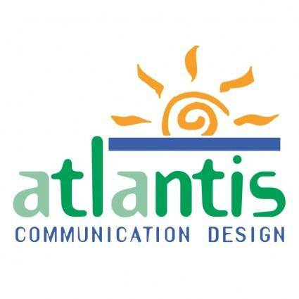 free vector Atlantis communication design