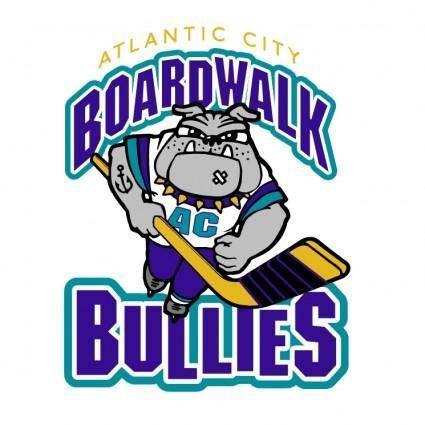 free vector Atlantic city boardwalk bullies