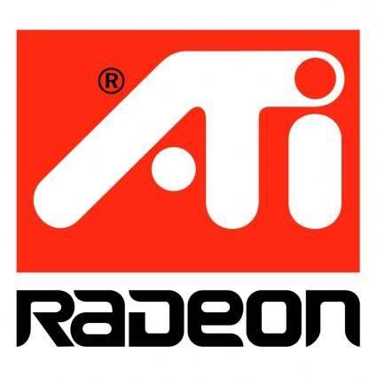 free vector Ati radeon