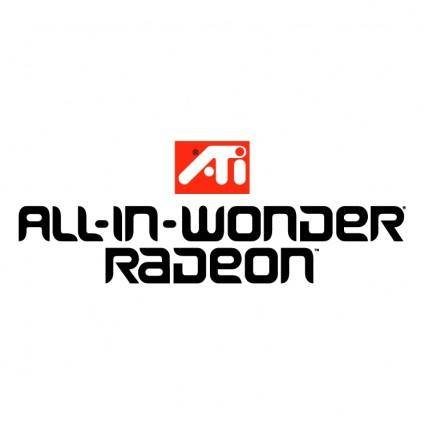 Ati all in wonder