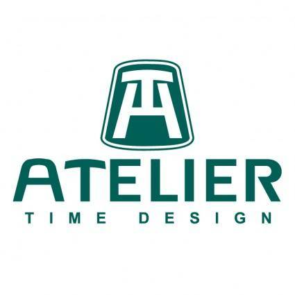 free vector Atelier time design