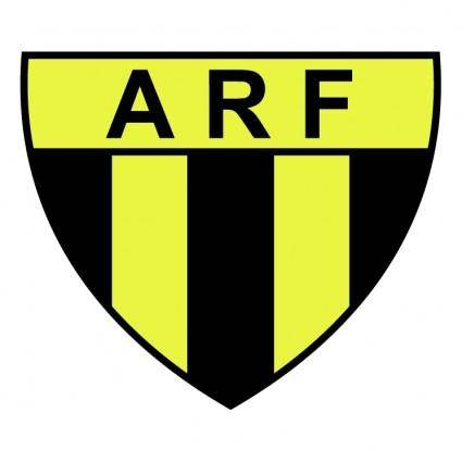 free vector Associacao rosario de futebol de rosario do sul rs
