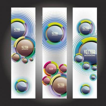 Trend bookmark card 05 vector