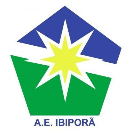 free vector Associacao esportiva ibipora de ibipora pr