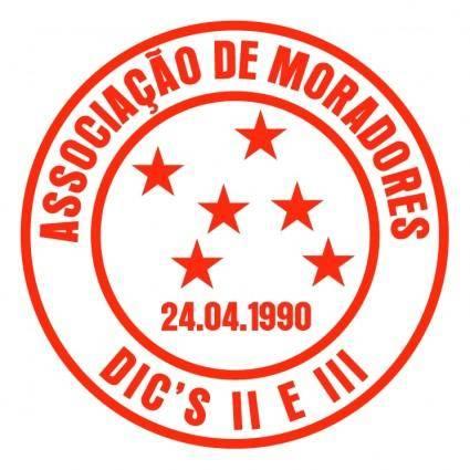 free vector Associacao de moradores dos dics ii e iii de campinas sp