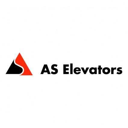 As elevators