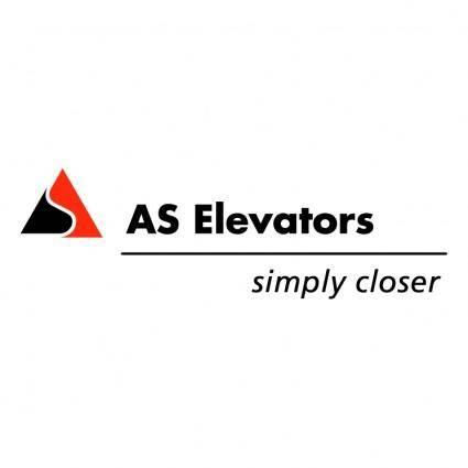 As elevators 0