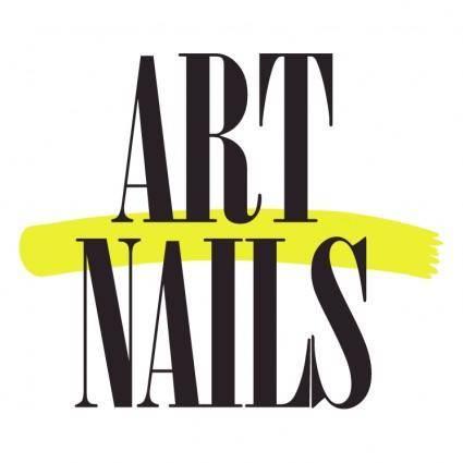 free vector Art nails