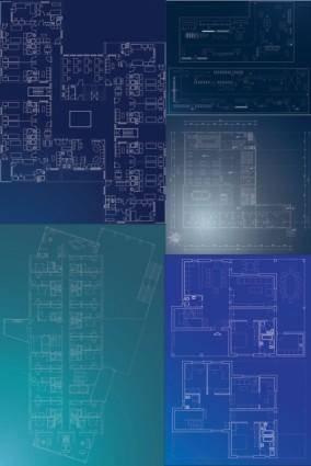 free vector Interior design vector graphic