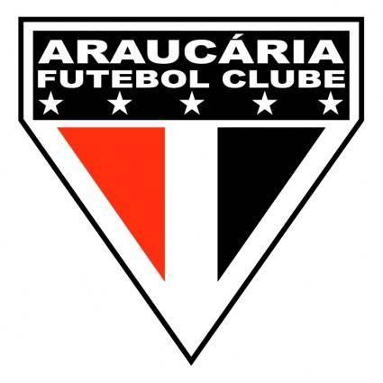 free vector Araucaria futebol clube de araucaria pr