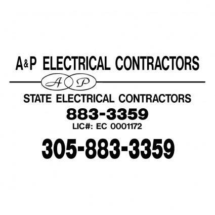free vector Ap electrical contractors