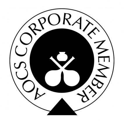 free vector Aocs corporate member