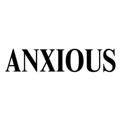 free vector Anxious
