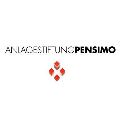 free vector Anlagestiftung pensimo