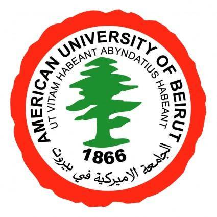 free vector American university of beirut