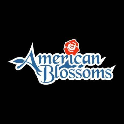 free vector American blossoms