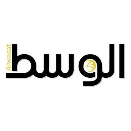 free vector Alwasat newspaper