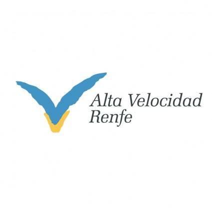 free vector Alta velocidad renfe