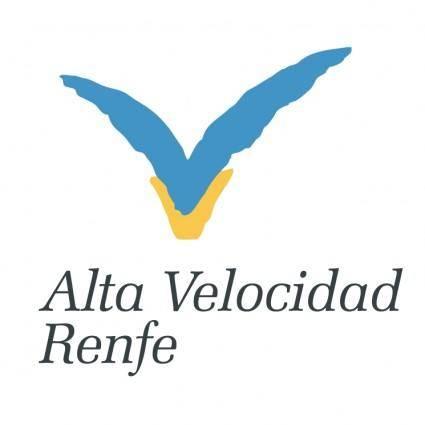 free vector Alta velocidad renfe 0