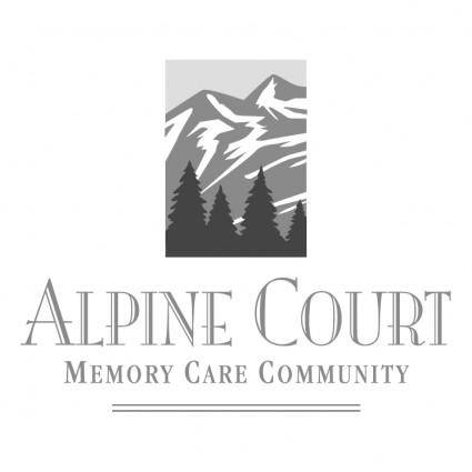 free vector Alpine court