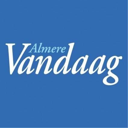 Almere vandaag 0