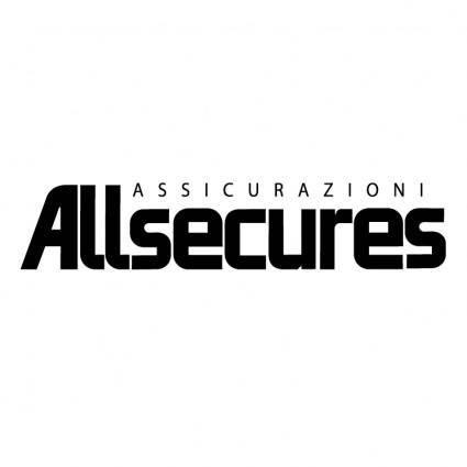 free vector Allsecures assicurazioni