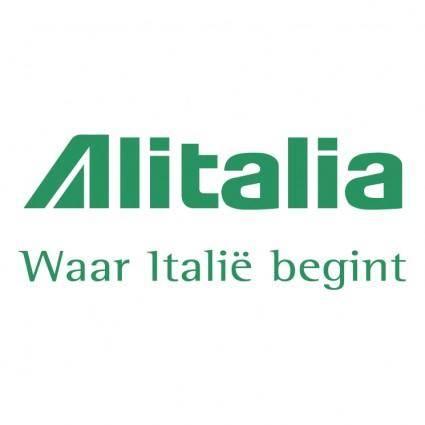 free vector Alitalia 1