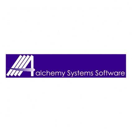 Alchemy systems software 0